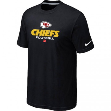 Men's Kansas City Chiefs Black Critical Victory T-Shirt -
