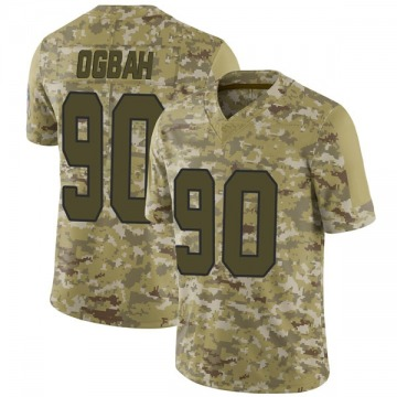 Youth Emmanuel Ogbah Kansas City Chiefs Limited Camo 2018 Salute to Service Jersey
