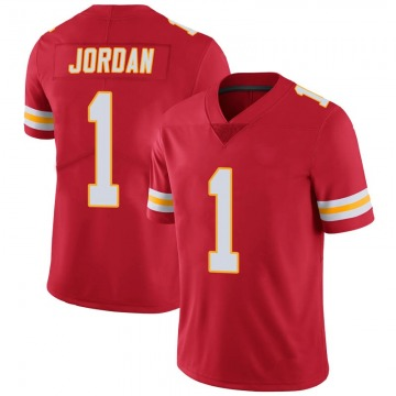 Youth Jamire Jordan Kansas City Chiefs Limited Red 100th Vapor Jersey